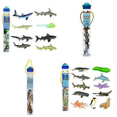 Safari Ltd Shark Toobs for kids.