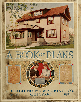 Chicago House Wrecking Co 1913 catalog cover