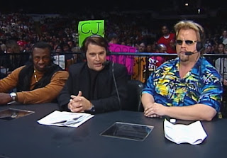 WCW Mayhem 2000 - Stevie Ray, Tony Schiavone, and Mark Madden called the show