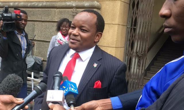 Nyeri Town MP Ngunjiri Wambugu