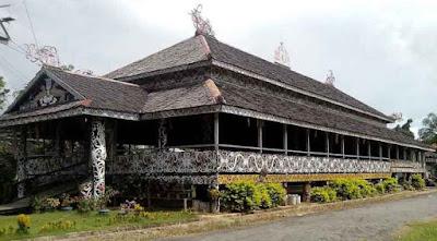 Rumah Lamin, Kalimantan Timur