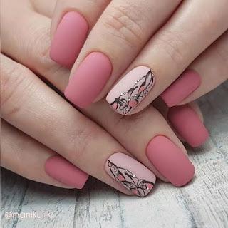 25 modelos de unhas pink