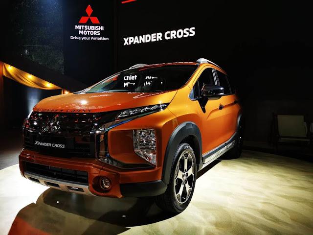 Spesifikasi dan Harga Mitsubishi Xpander Cross Terbaru