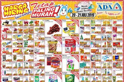 Katalog Promo Ada Swalayan 20 - 21 Juli 2019