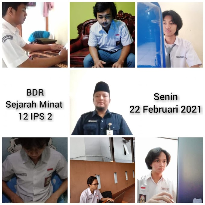 Sejarah 12 IPS 2 & 1 (8 Maret 2021)