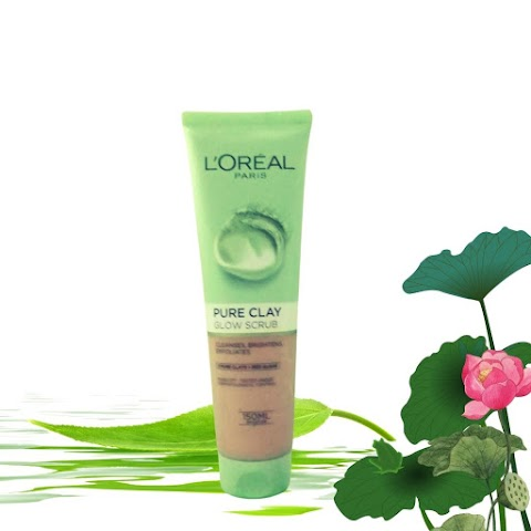 Review L'oreal Pure Clay Glow Scrub