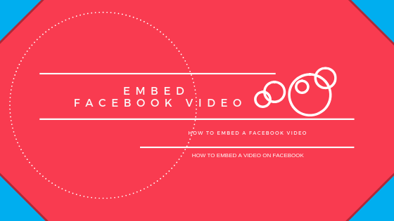 How To Embed Video In Facebook Post<br/>