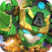 SuperHero Fruit: Robot Wars- Future Battles Unlimited (Coins  - Gems) MOD APK