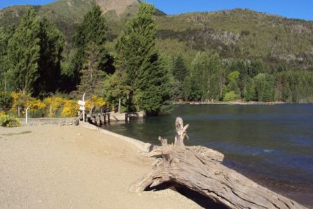 Praias do Lado Oeste no Lago Gutiérrez em Bariloche