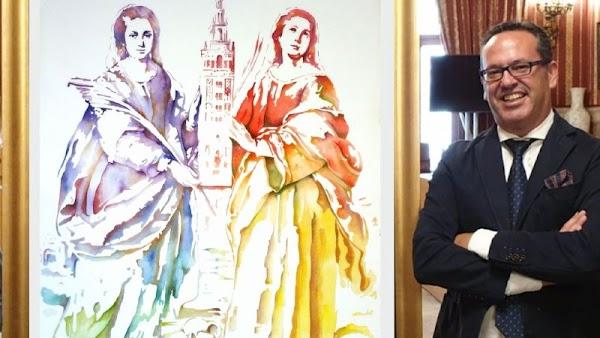El artista de Mairena José Manuel Peña será el autor del cartel del Rocío 2021