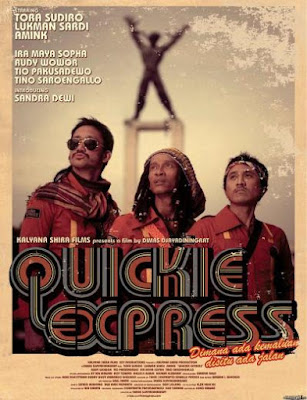 Quickie Express Poster