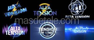 Logos de 'Alta Tensión' desde 1998 hasta 2021