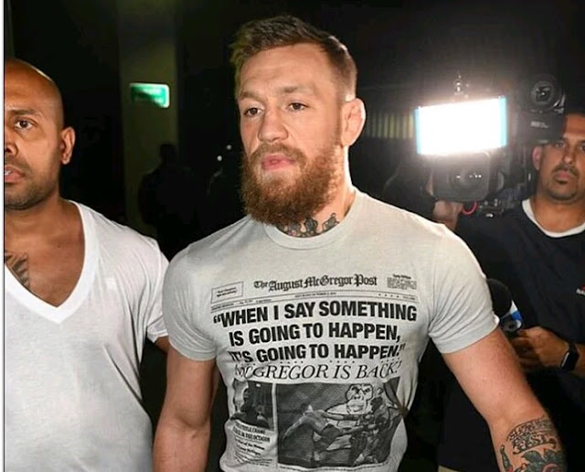 Conor McGregor - UFC Star And Former UFC lightweight Champion