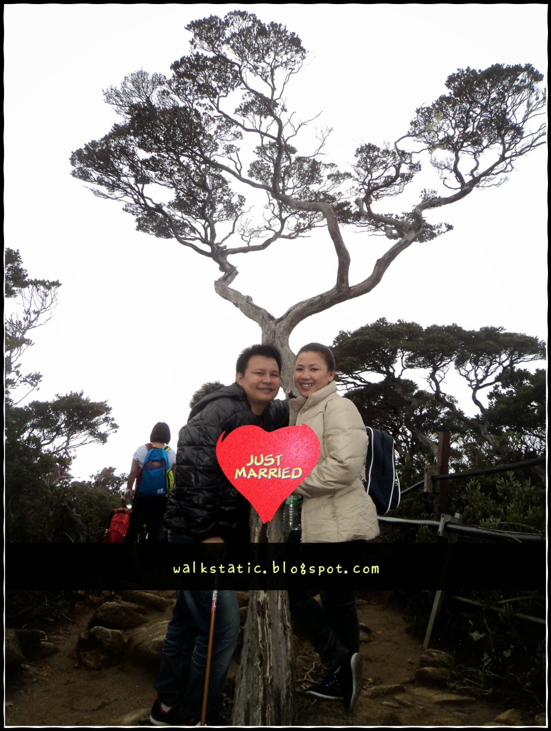 Married at Mt. Kinabalu