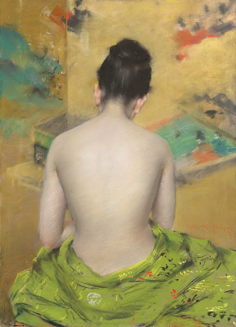 William Merritt Chase: Nudo di schiena