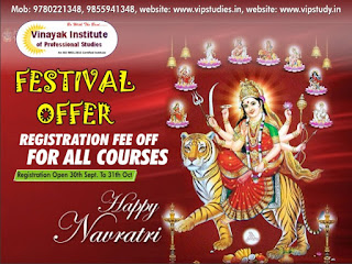 Festival Session Offer Registration Fee Off for all the courses