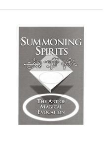 Descargar ebook pdf magia gratis Arte De La Evocación Magica