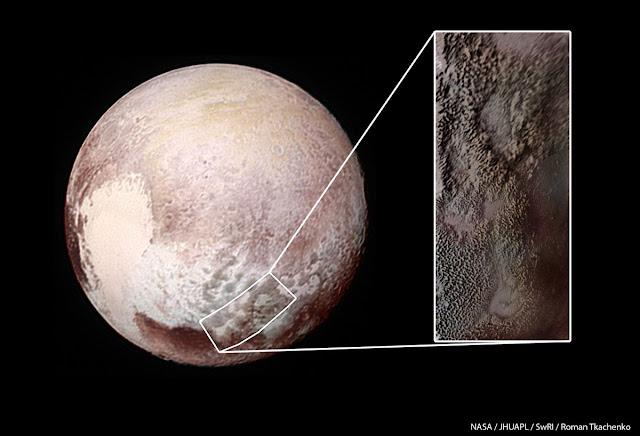 Tartarus Dorsa - Plutão