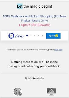 100% cash back on flipkart,offer-online.in, flipkart free shipping,zingoy offer,