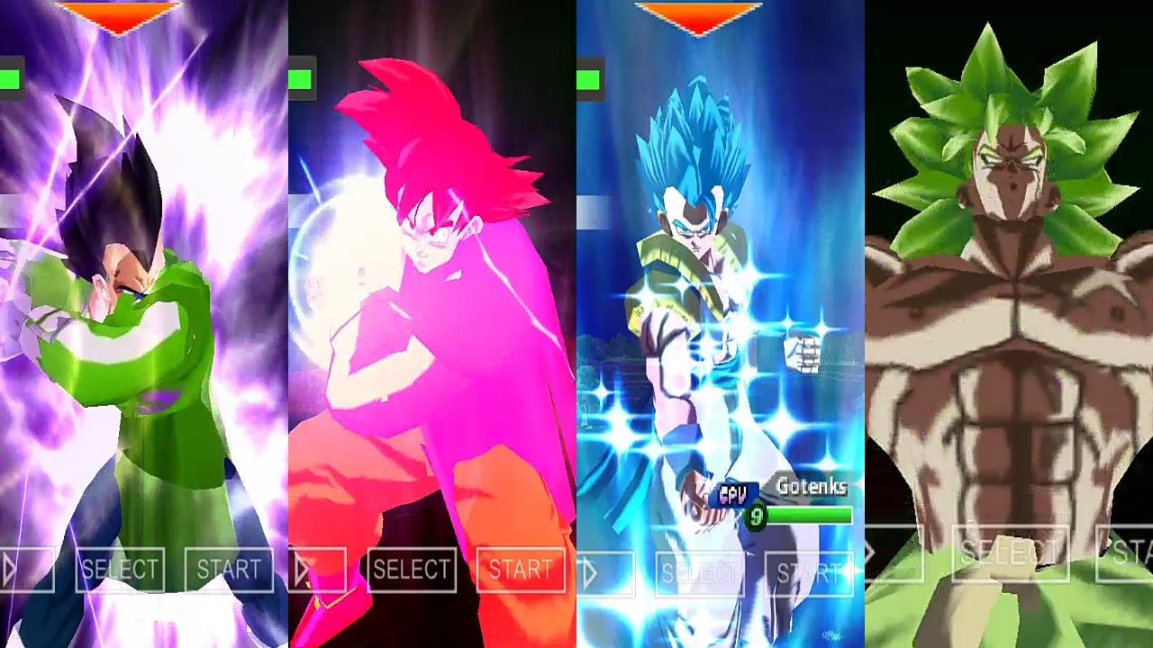 Goku And Vegeta Vs Broly