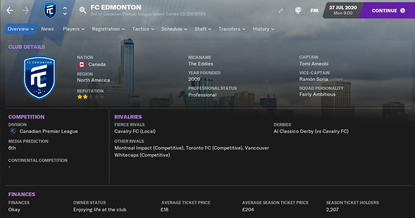 FC Edmonton FM21