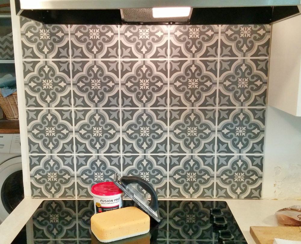 To Grandmas House We Go Link Party - Tile your own Backsplash