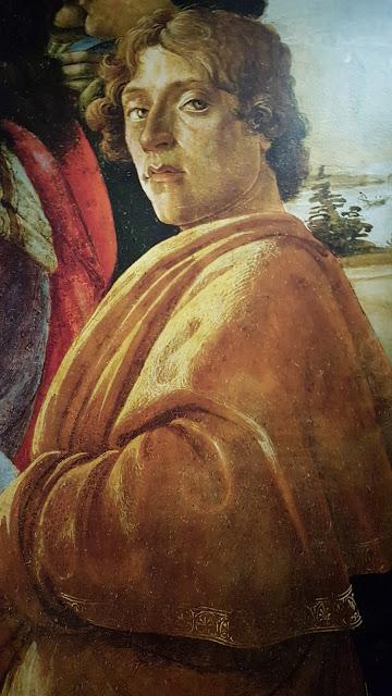 Botticelli : Autoportrait