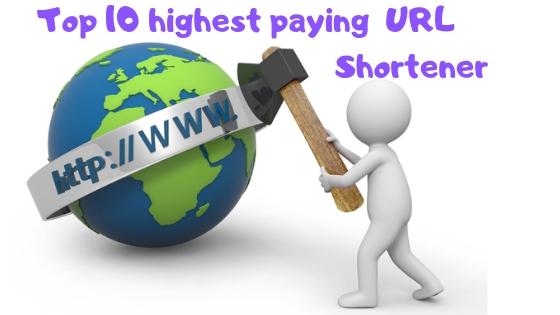 Highest paying Short URL