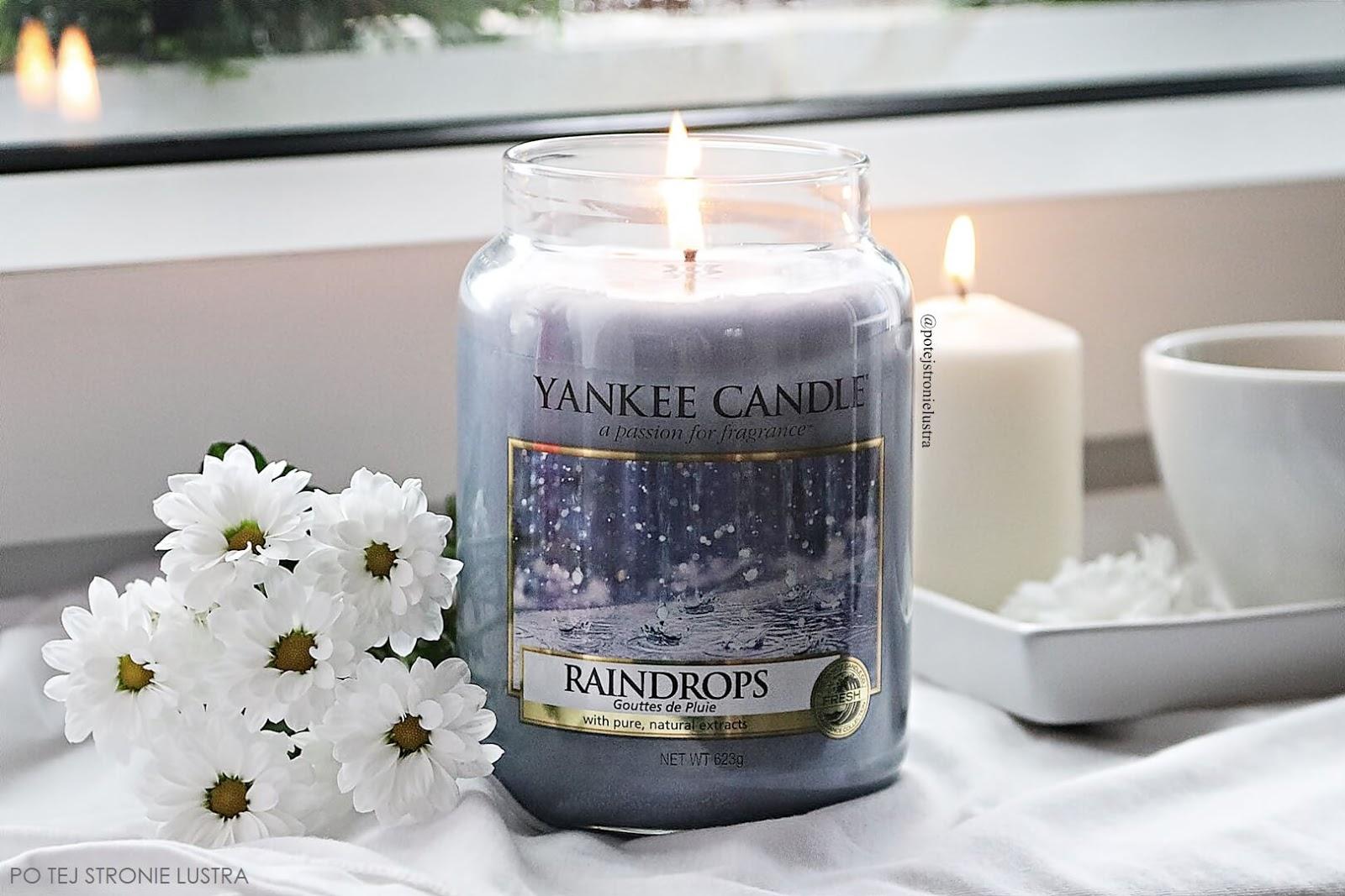 raindrops yankee candle recenzja
