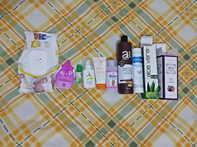 Kozmetik Tasarrufumda  Bitenler 7