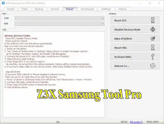repair samsung phone z3x free
