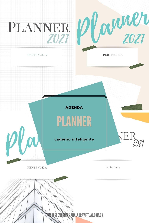 planner modelos para pinterest caderno inteligente