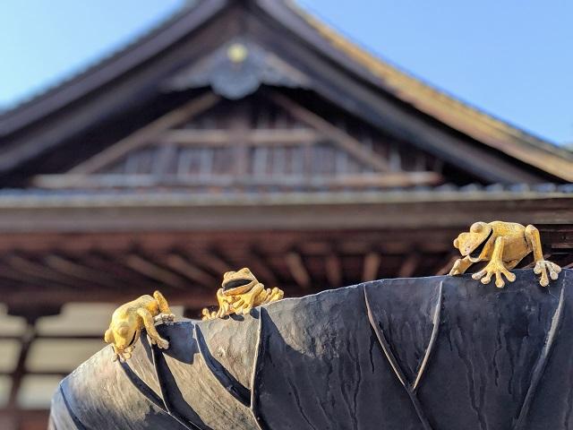 Japan in April: Oyama Jinja Shrine in Kanazawa Japan