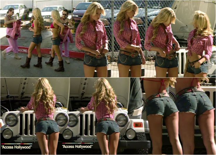 4 girls wash jeep and lick tight cunts - 2 part 8