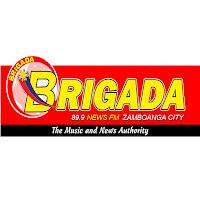 Brigada News FM DXBY 89.9 Zamboanga logo