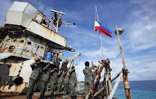 Pasukan Filipina di Kapal Sierra Madre
