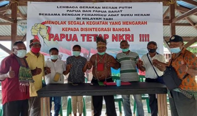 Tokoh Adat Papua Tegaskan 1 Juli Bukan HUT Papua Merdeka