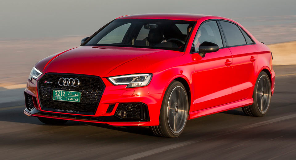 2018 Audi Rs3 Sedan Usa Ms Blog