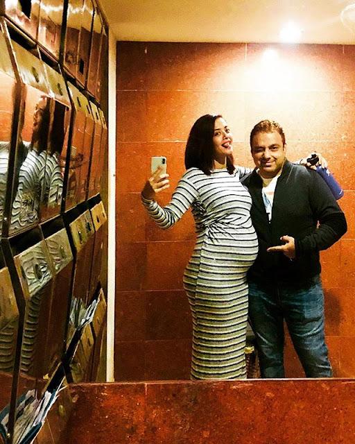 Surveen Chawla with Akshay Thakker