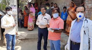 जौनपुर : बदलापुर क्षेत्र में बाहर से आये सात लोगों के घर पहुंची स्वास्थ्य टीम, हड़कम्प