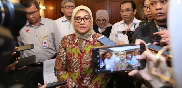 TKW di Singapura Positif Corona, Menaker Ida: Stok Masker Sebanyak-banyaknya