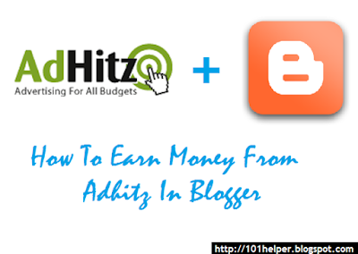 earn money blogging online from AdHitz