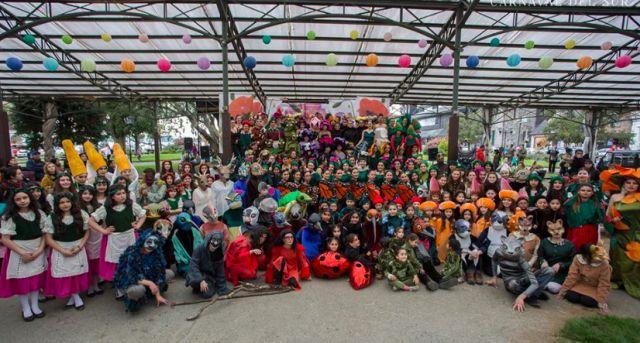 Carnaval del Sur en TVN