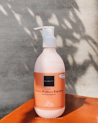 review scarlett body lotion jolly