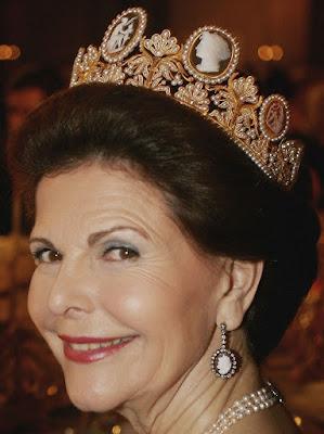 cameo tiara empress josephine france sweden queen silvia