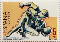 JUEGOS OLÍMPICOS LOS ÁNGELES 1984, LUCHADORES