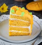 Eggless Mango Cake Recipe