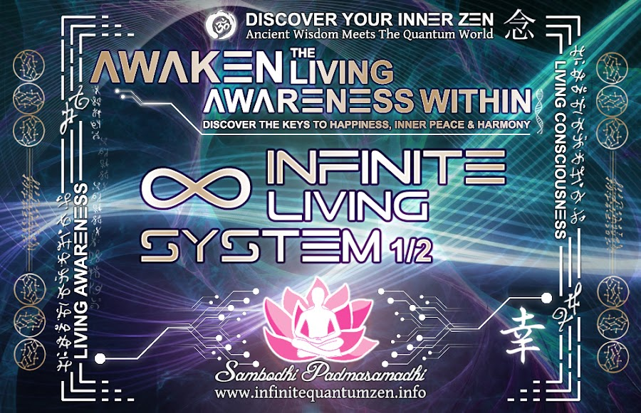 Infinite Living System 1 of 2 life the book of zen awareness, alan watts mindfulness key happiness