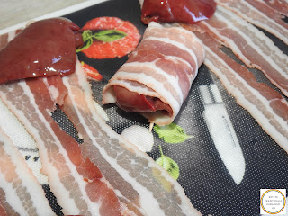 Ficatei in bacon preparare reteta,