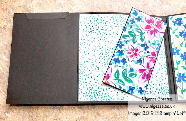 Nigezza Creates. Stampin' Up!® Garden Impressions Mini Album Part 3: Photo Mats & Pocket Inserts